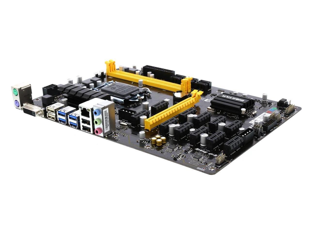 BIOSTAR TB250-BTC PRO LGA 1151 Intel B250 SATA 6Gb/s USB 3.0 ATX Intel Motherboard