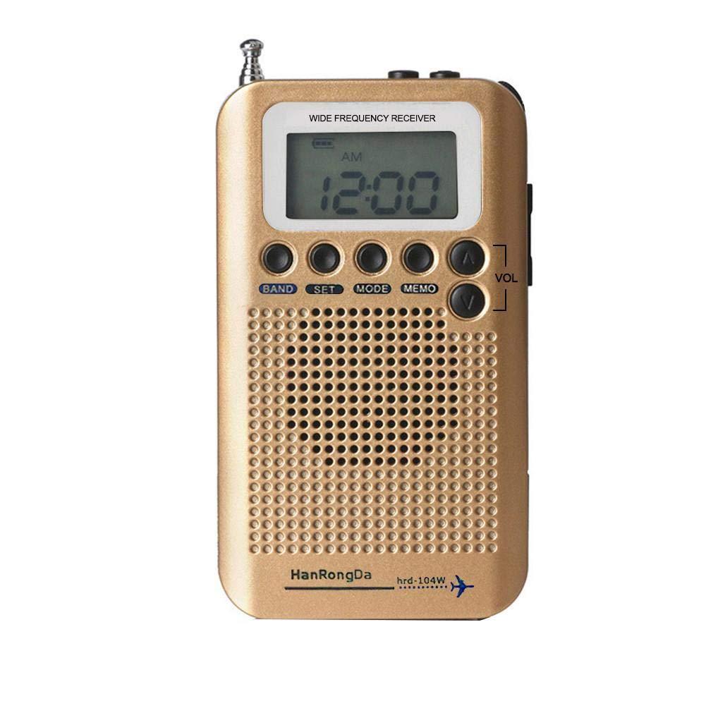 Blue-Yan Portable Am/FM/SW/VHF/CB/NOAA Air Band Radio Receiver