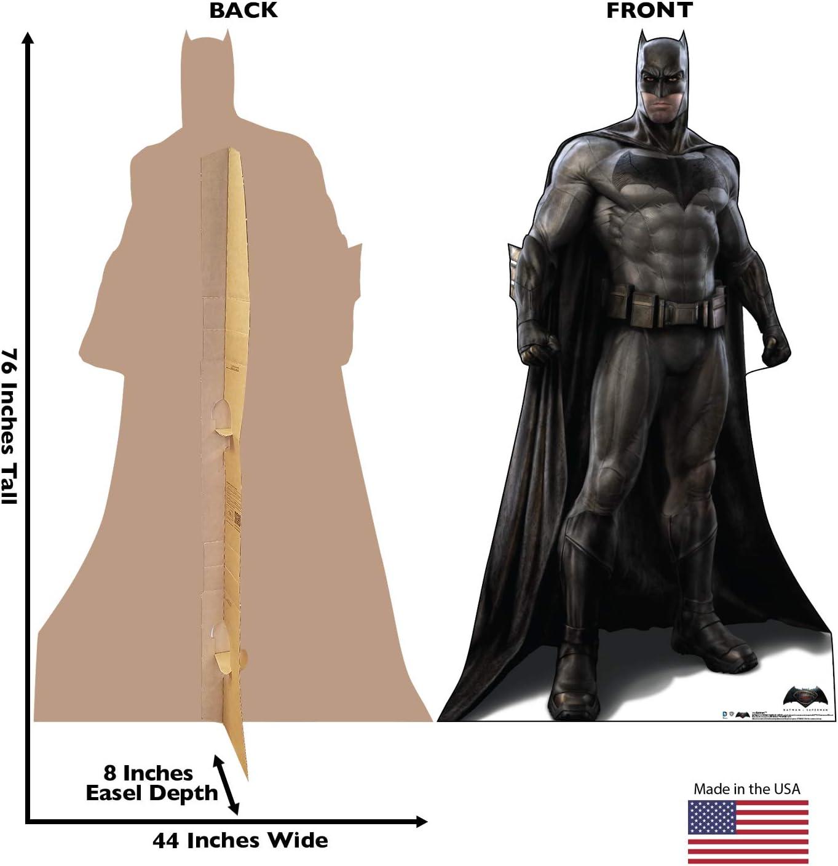 2016 Advanced Graphics Batmobile Life Size Cardboard Cutout Standup Batman V Superman Dawn of Justice