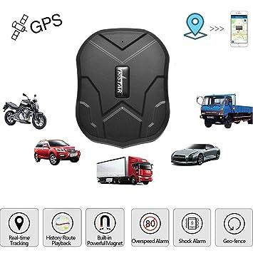 Konnison-1 Perseguidor GPS Impermeable para el Coche TK905 TKSTAR GPS Mini Tracker con imán