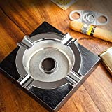 Leicraft Cigar Ashtray,Metal Ashtray with Solid