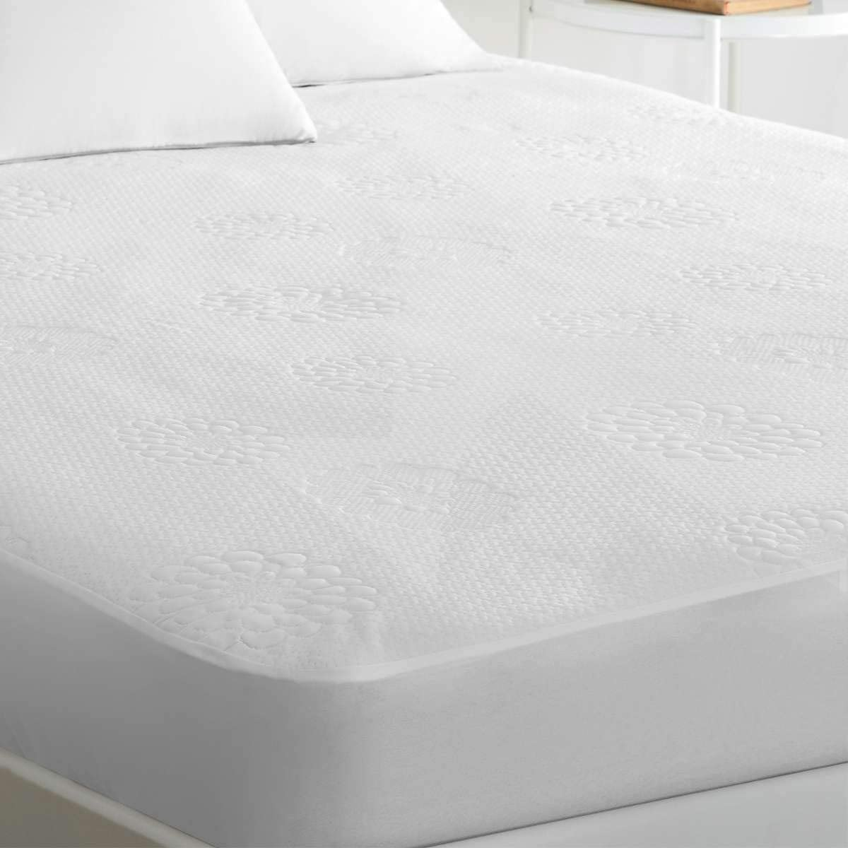 Waterproof Mattress Protector BAMBOO Soft Hypoallergenic Fitted Cover Pad Sizes