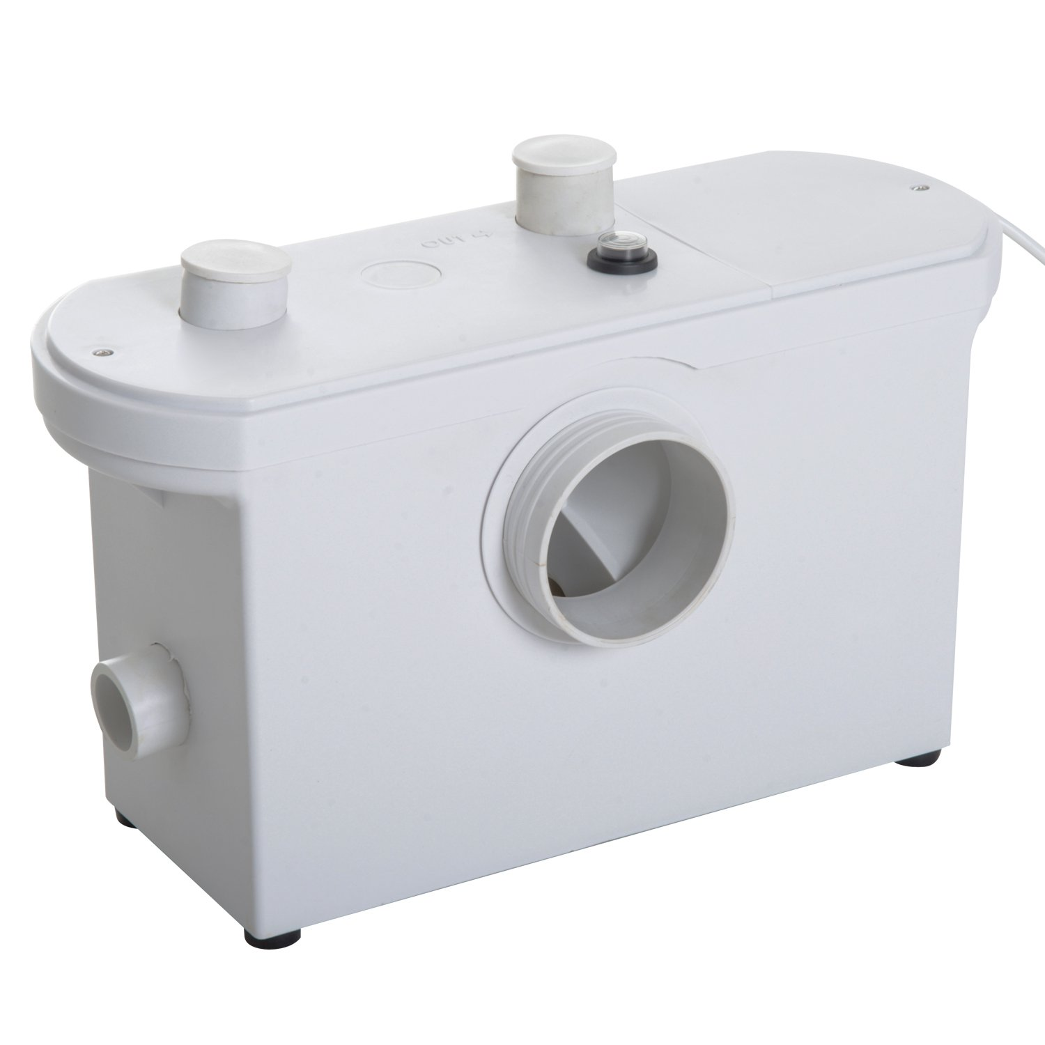 Homcom 600W Sewerage Pump Macerator Toilet Waste Water Pump Sanitary Sink Basin with 4 Inlets Sold By MHSTAR