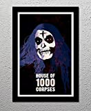 House of 1000 Corpses - Rob Zombie - Horror Movie - Otis - Original Minimalist Art Poster Print