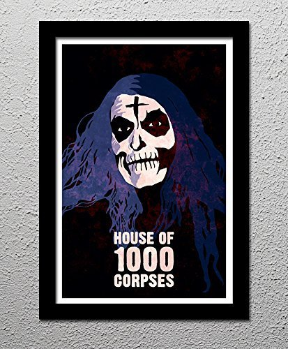 House of 1000 Corpses - Rob Zombie - Horror Movie - Otis - Original Minimalist Art Poster Print - Otis Horror Movie