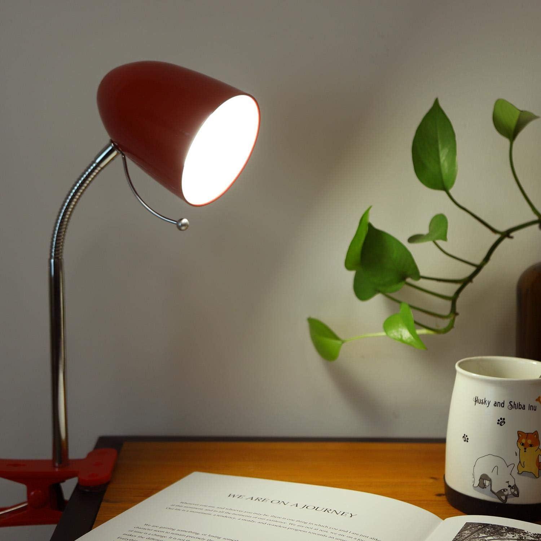 Aigostar 182304 - Lámpara de mesa tipo flexo con pinza de diseño ...