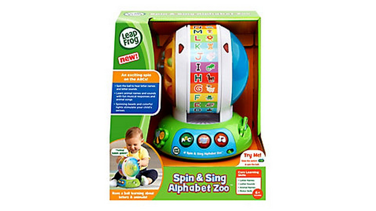 LeapFrog Spin and Sing Alphabet Zoo by LeapFrog (Image #3)