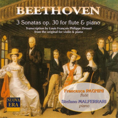 Beethoven: 3 sonatas Op. 30 for flute & piano