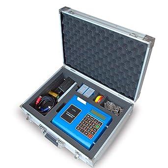 TECHTONGDA Portable Digital Ultrasonic Flowmeter Flow Meter with Printer  DN300-6000mm Ultrasonic Liquid Flow Meter Tester: Amazon.com: Industrial &  Scientific