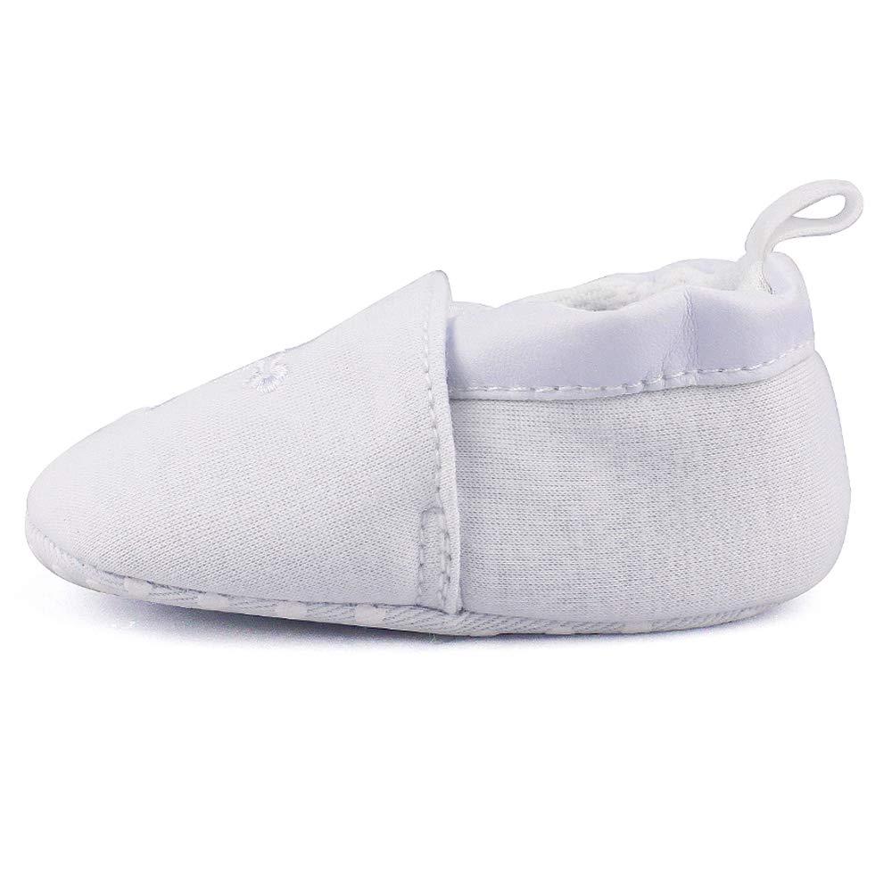 Baby Boys Girls Premium Soft Sole Christening Baptism Church Cross Slipper Crib Shoes, 3-6 Months by Estamico (Image #5)