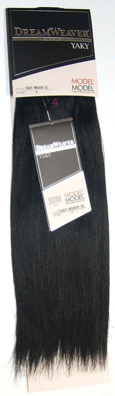 Amazon Model Model Dreamweaver 100 Human Hair Extensions Yaky