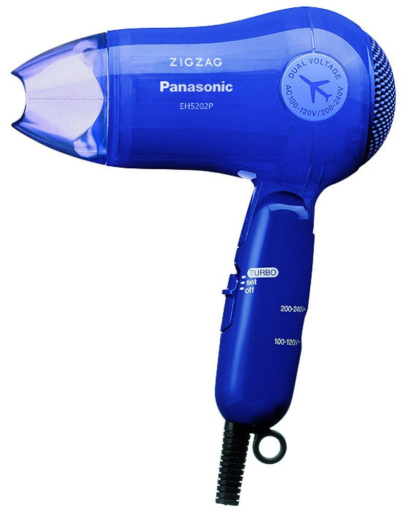 Panasonic Turbo-Dry ZIGZAG Hair Dryer EH5202P-A Blue | AC100-120V, 200-240V (Japan Model)