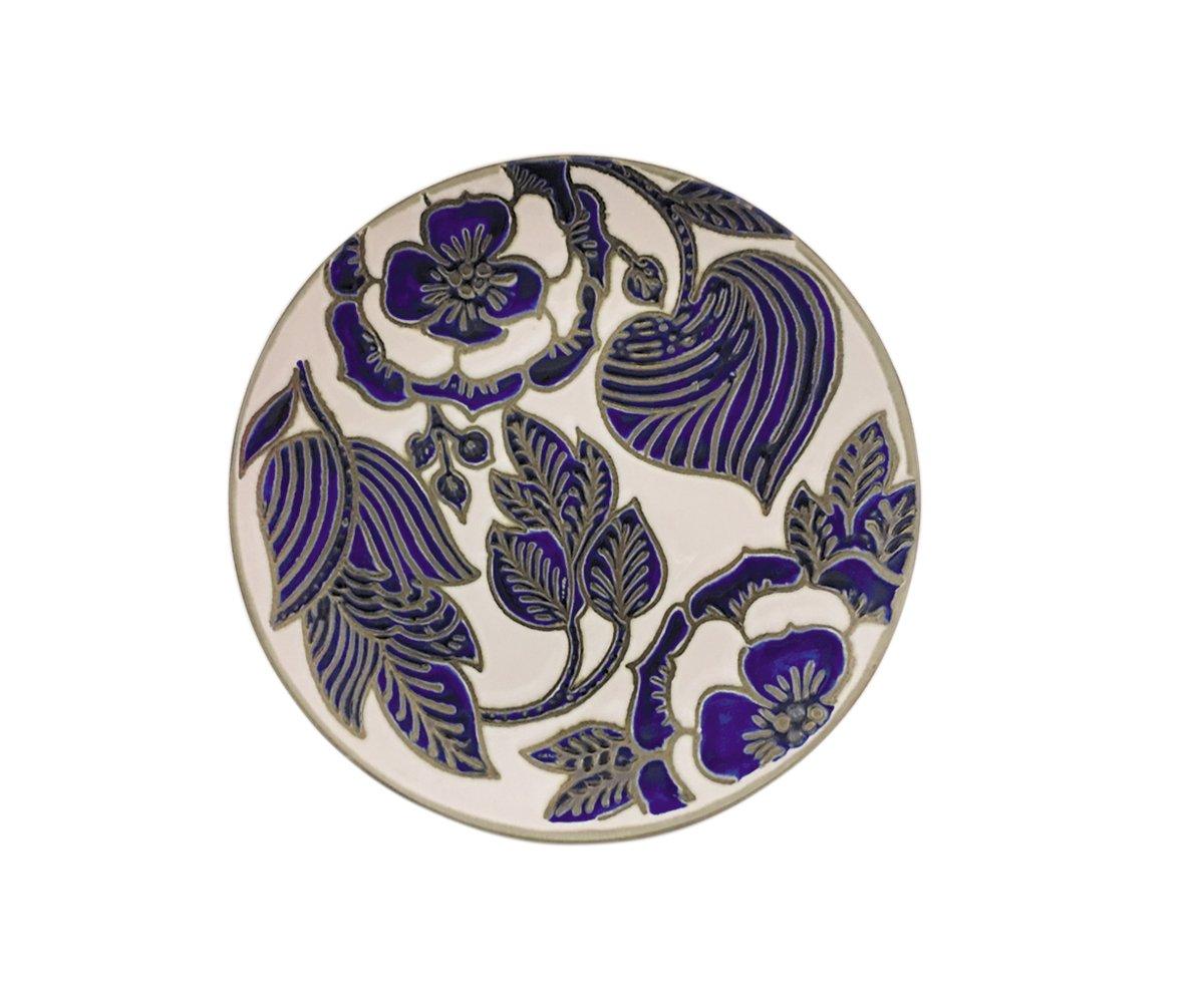 Blue Sky Ceramic 8.1'' Imperial Palace Blue Salad Plate