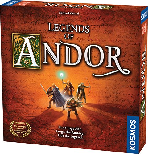 Legends of Andor Board Game | Cooperative Strategy Adventure Game By KOSMOS | Spiel Des Jahres Kennerspiel Winner