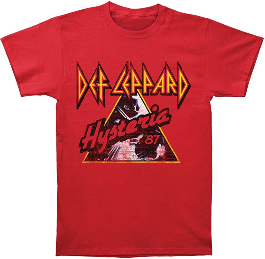 Ill Rock Merch Def Leppard Hysteria 87 Camiseta: Amazon.es: Ropa y accesorios