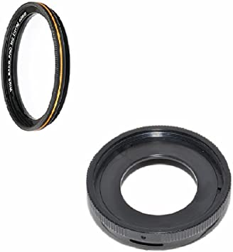 Compatible for Olympus Tough TG-1 TG-2 TG-3 TG-4 Camera MaxLLTo Lens Filter Adapter /& 40.5mm HD MRC Super Slim Filter Waterproof Scratches Resistant Oil Proof Multi-Resistant-Coating