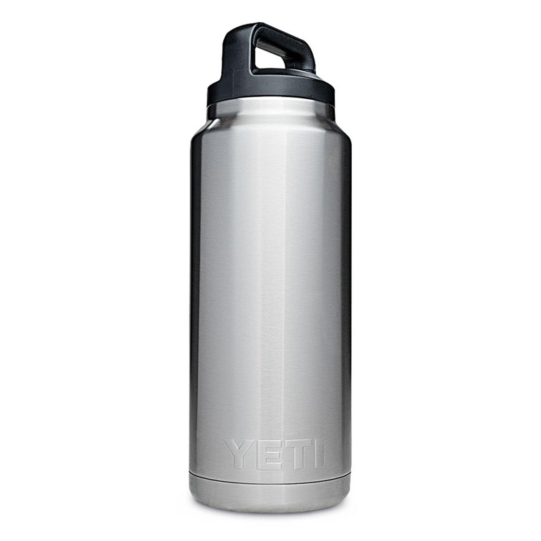 YETI Rambler 36oz Vacuum Insulated Stainless Steel Bottle with Cap (Stainless Steel) (Stainless Steel)