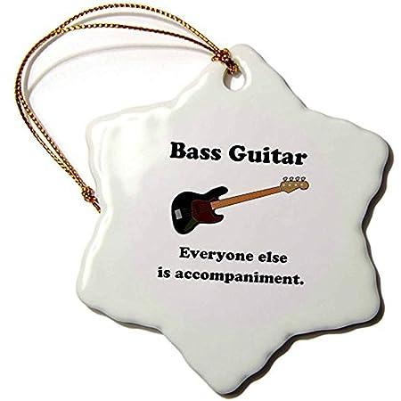 Bowen Rhodes - Guitarra de bajo con Texto en inglés Everyone Else ...