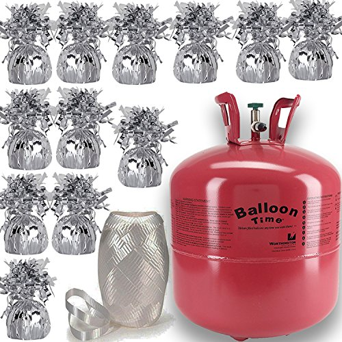 (Helium Tank + 12 Balloon Weights, 5.5