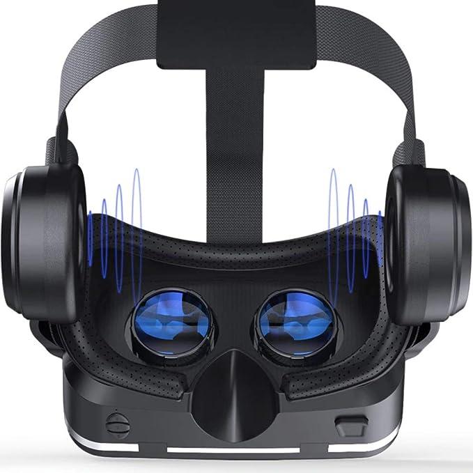 4382db7d7b84 Amazon.com  Shinecon 6.0 Casque VR Virtual Reality Glasses 3D Goggles  Headset Helmet for Smartphone Smart Phone Google Cardboard Stereo (Add  Box)  Home ...
