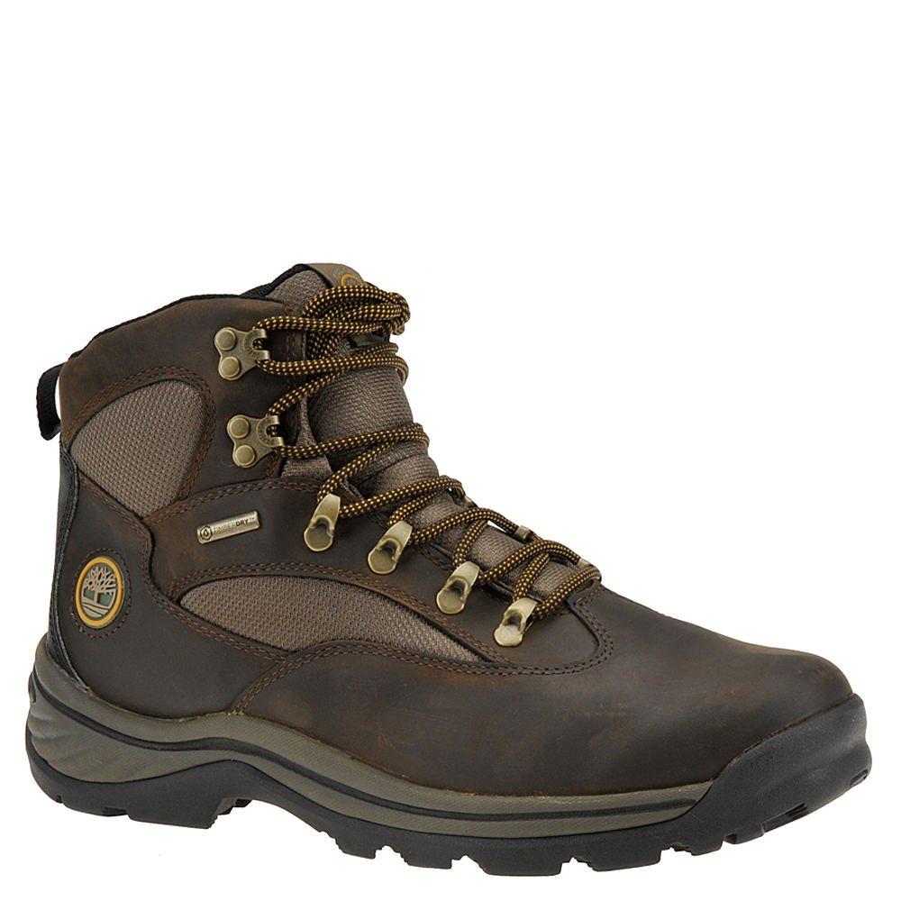 Timberland Men's Chocorua Trail Waterproof Hiking Boot,Brown w/Green,US 9.5 M