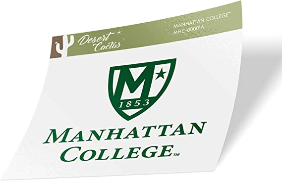 Manhattan College Jaspers NCAA Vinyl Decal Laptop Water Bottle Car Scrapbook (Sticker - 00001A)