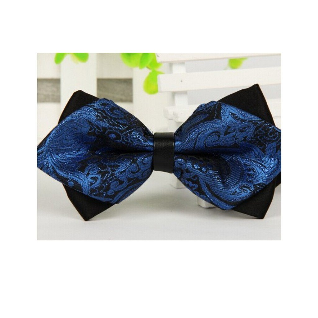Mens Bow Tie Formal Commercial Accessories Butterfly Cravat Tie for Men