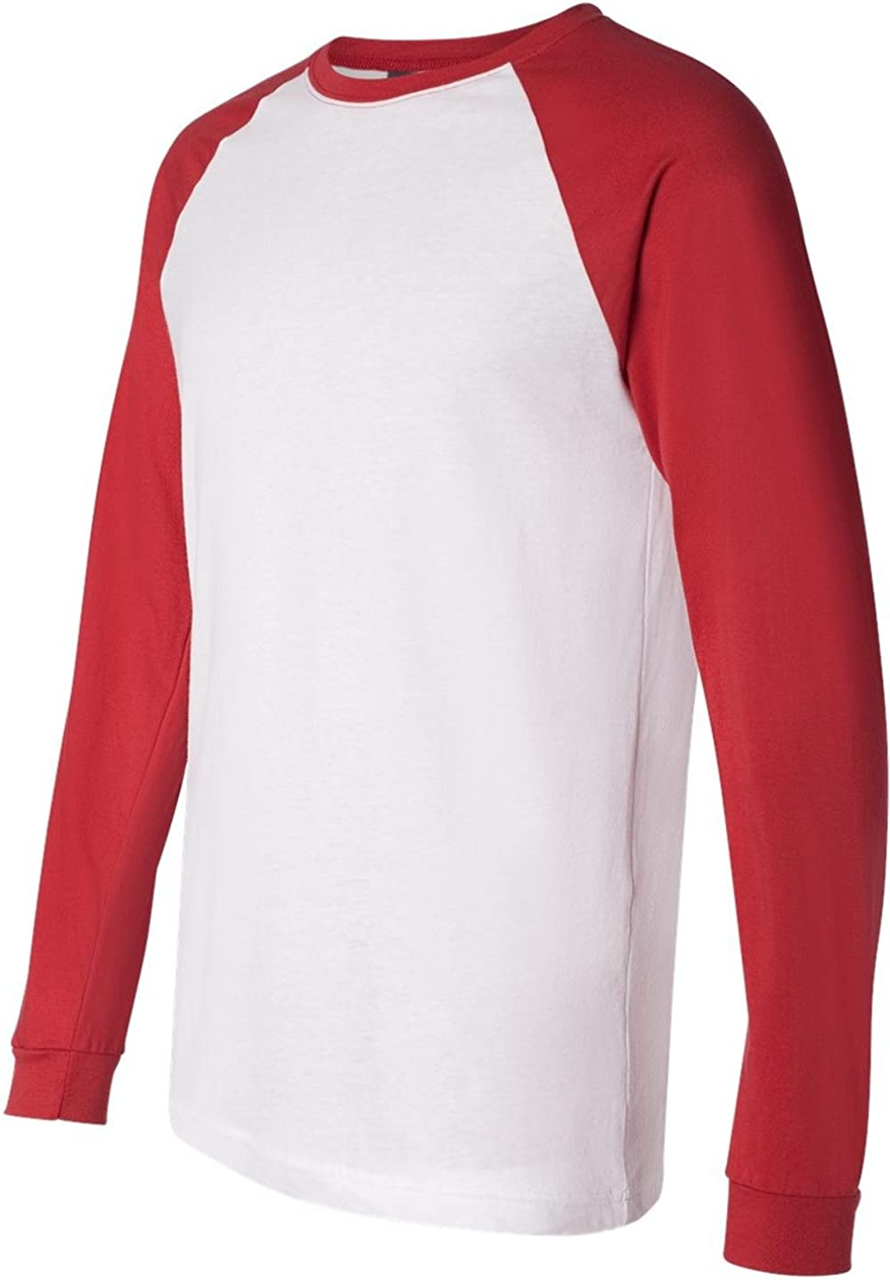 RED Bella Canvas Mens Fashionable Jersey T-Shirt