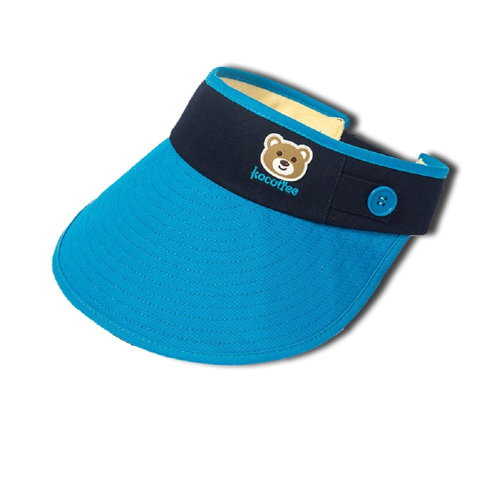 RockFox 2017 New summer style kids Sun hat, cotton breathable, anti-static and puvioresistant visor for children,100%cotton, 6colours , 19.68-21.26 in.