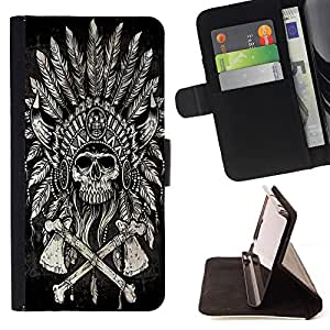 - Keep Calm And Never Give Up - - Style PU Leather Case Wallet Flip Stand Flap Closure Cover FOR HTC Desire 820 - Devil Case -