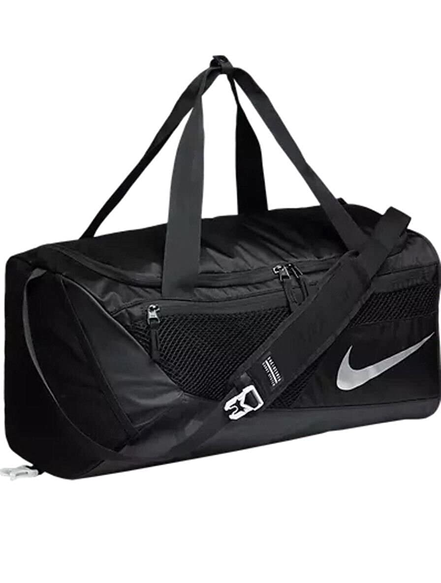 Nike Mens Vapor Max Air 2.0 Small Gym Duffel Bag Black
