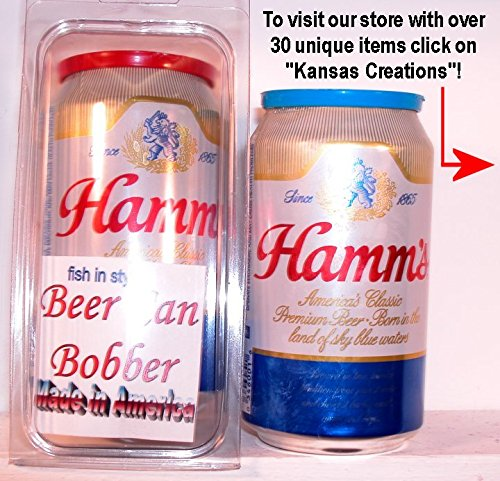 Beer Can Bobber - Fish in Style (Hamms)