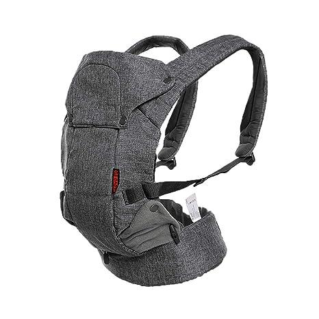 Mochila portabebés ergonómica suave y transpirable para bebé, ajustable, segura, cómoda para todas