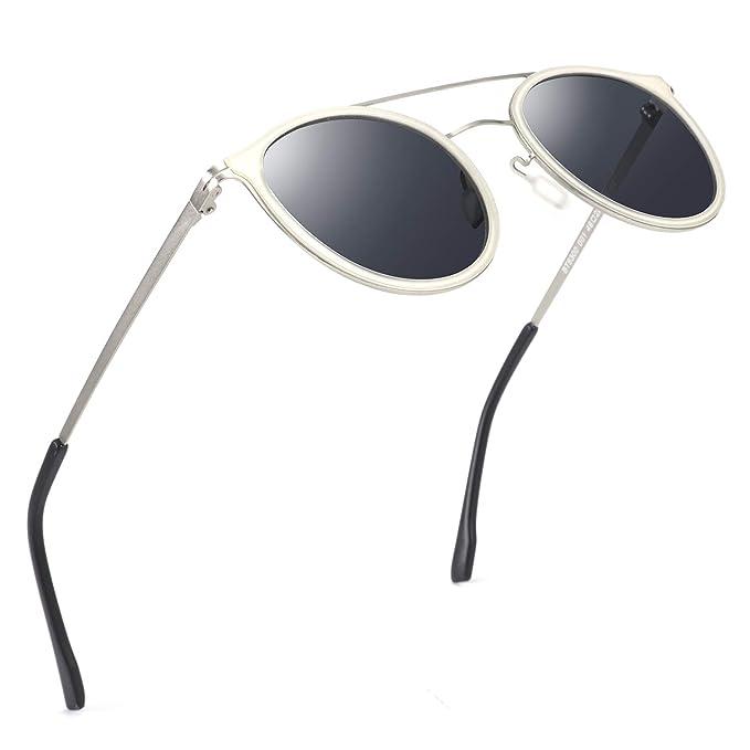 Amazon.com: ZENOTTIC - Gafas de sol polarizadas con marco de ...