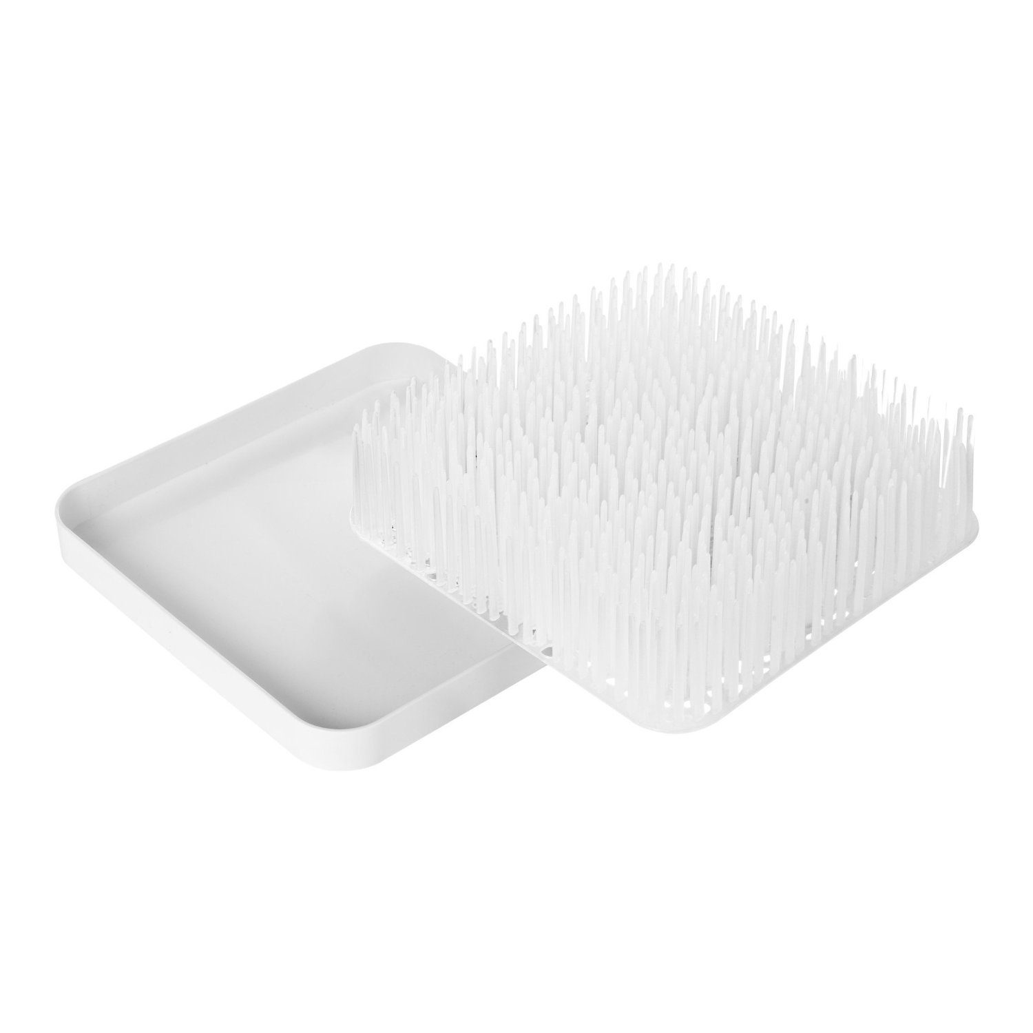 Boon Winter Grass Countertop Bottle Drying Rack one size, White
