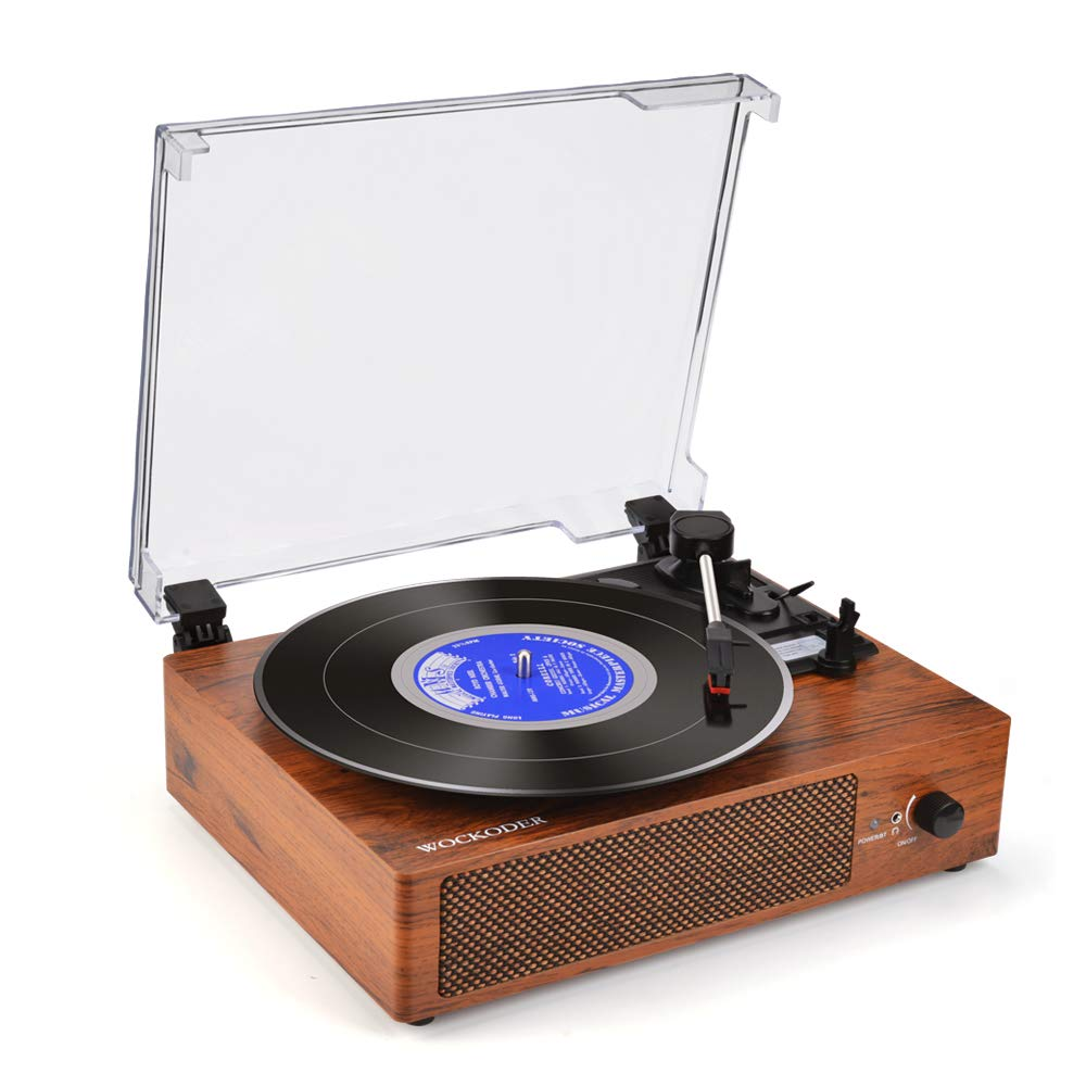 Electrohome Signature Vinyl Record Player Classic Turntable Natural Wood Hi-Fi Stereo System with AM/FM, CD, USB for MP3, Vinyl-to-MP3 Recording & AUX Input for Smartphones & Tablets (EANOS700) ビニール レコード プレーヤー クラシック ターンテーブル MP3レコーディング   B008J1IPGS
