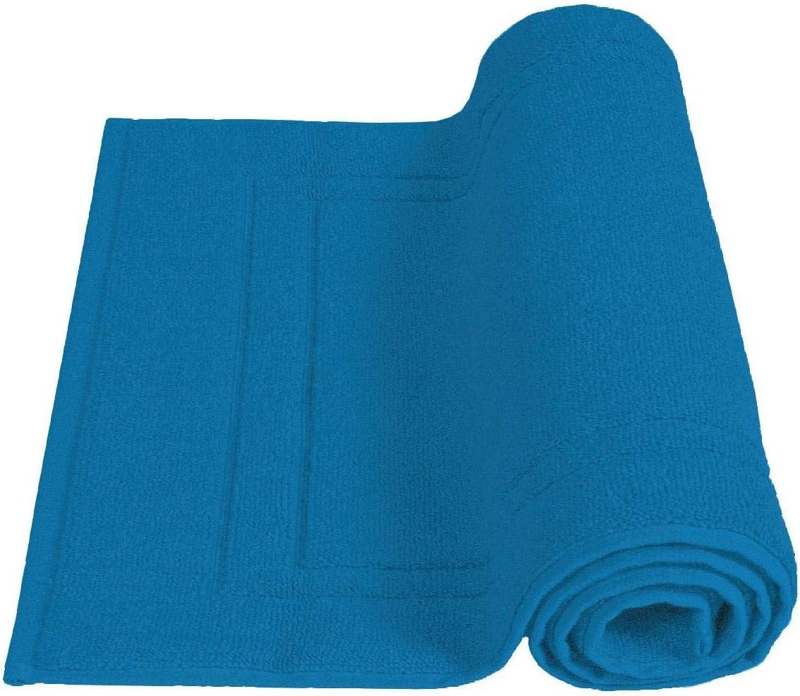 50 x 80 Tappeto da bagno 50/x 80/cm Uni 900/g//m/² cotone Cipria