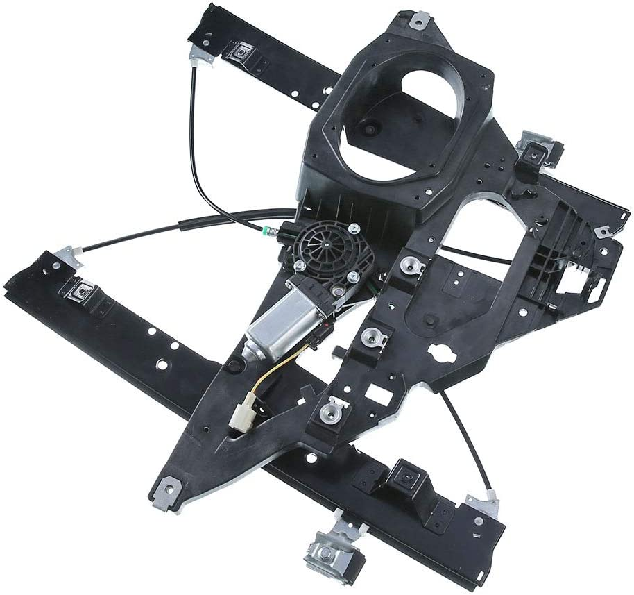 Front Right Passenger Side Power Window Regulator with Motor for 2007-2017 Lincoln Navigator Ford Expedition