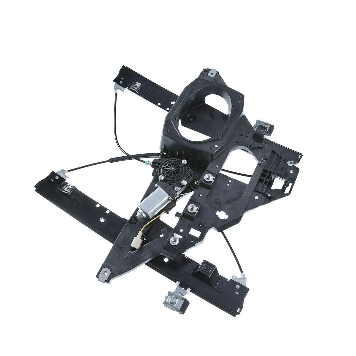 Front Right Passenger Side Power Window Regulator with Motor for 2007-2017 Lincoln Navigator Ford Expedition by YHTAUTO
