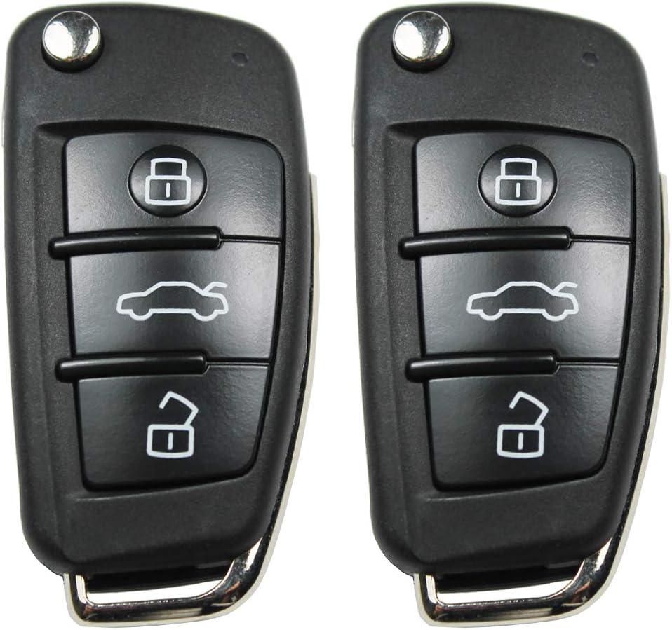 Konikon 2x Klappschlüssel Autoschlüssel Fernbedienung Elektronik