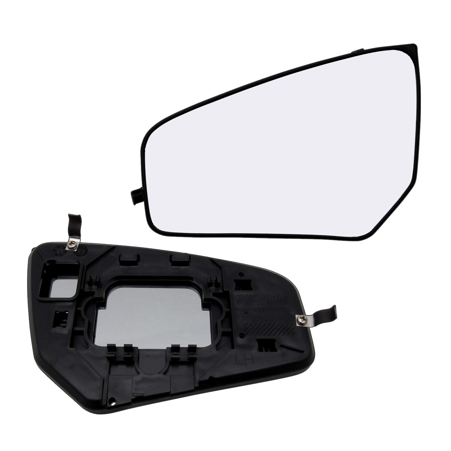 New Replacement Driver Side Mirror Glass W Backing Compatible With 2007-2012 Nissan Sentra Sold By Rugged TUFF