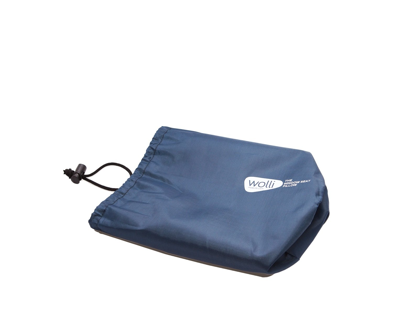Wolli- The Window Seat Headrest Pillow - Perfect for Car, Train, and Airplane Travel (Blue)