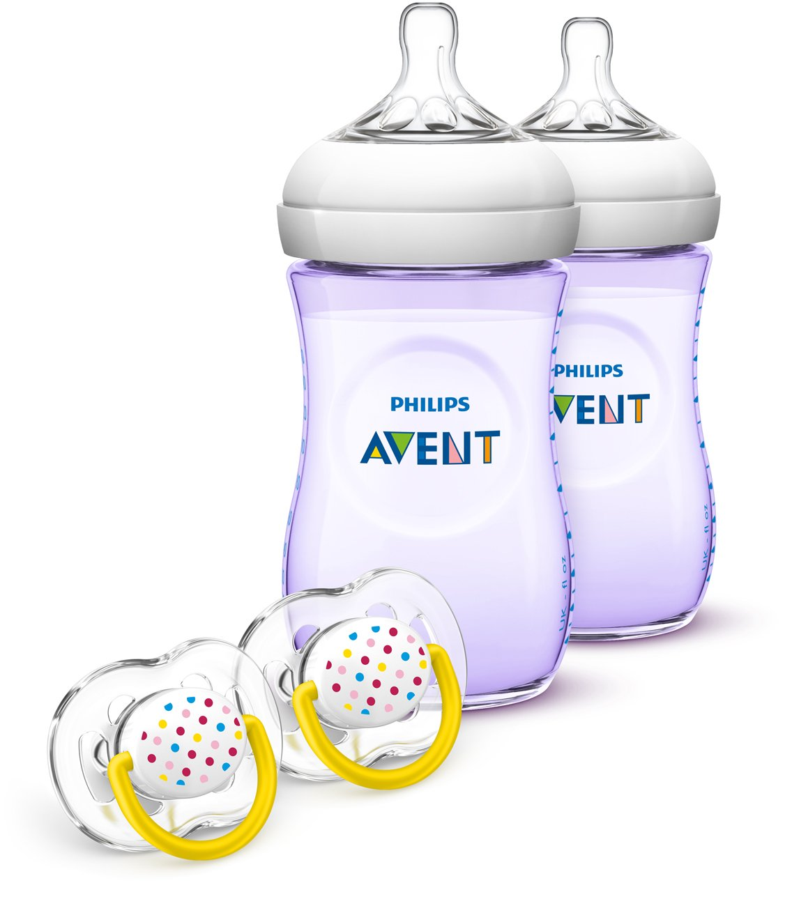 SCD693//23 Philips Avent Natural Baby Bottle Purple Gift Set