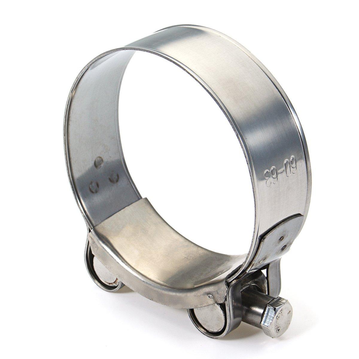 Wooya Universal 36 Mm De 60mm De Acero Inoxidable Genuino Banda De Escape Kit De Abrazadera De La Motocicleta Fit Silenciador Sile-01#