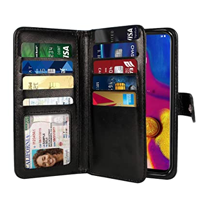 Amazon.com: NEXTKIN Funda Compatible para LG V40 ThinQ 6.4 ...