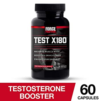 Amazon com: Test X180 Free Testosterone Booster with