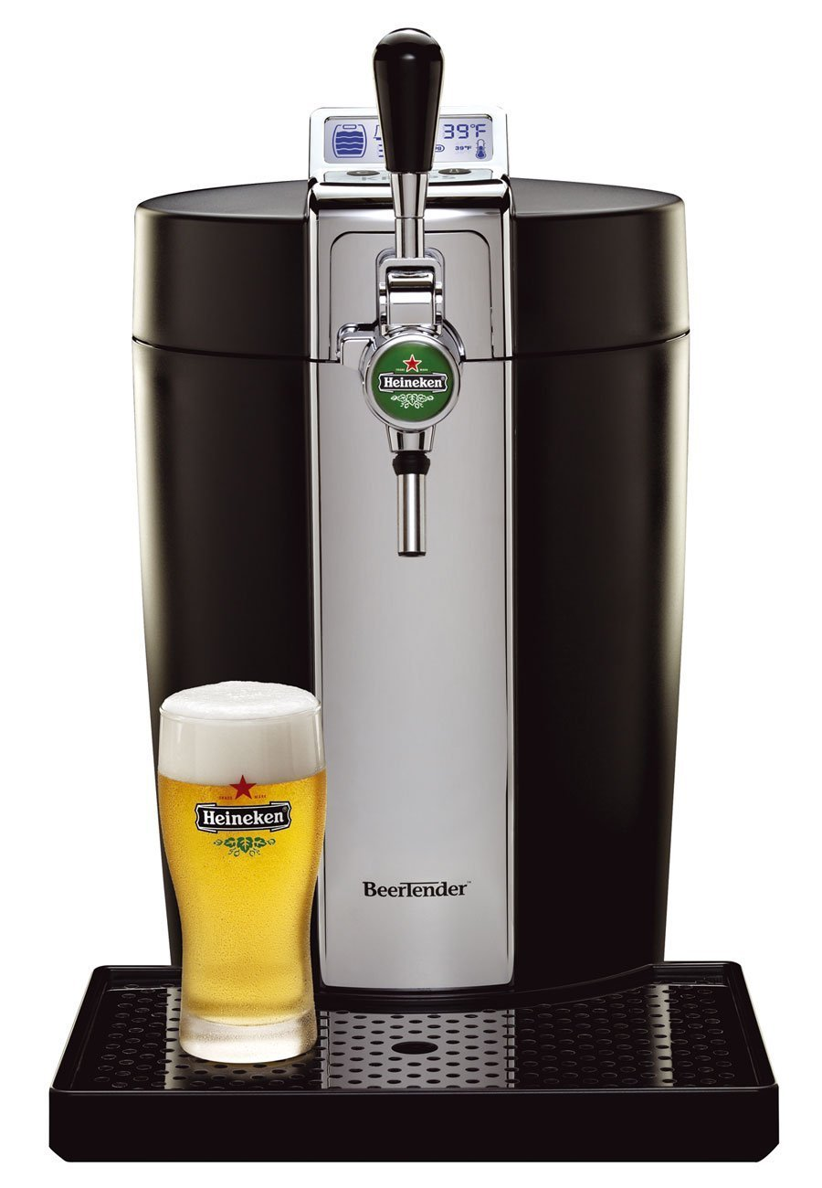 Beer Tap Systems For Home - Beertender from heineken and krups b95 home beer tap system