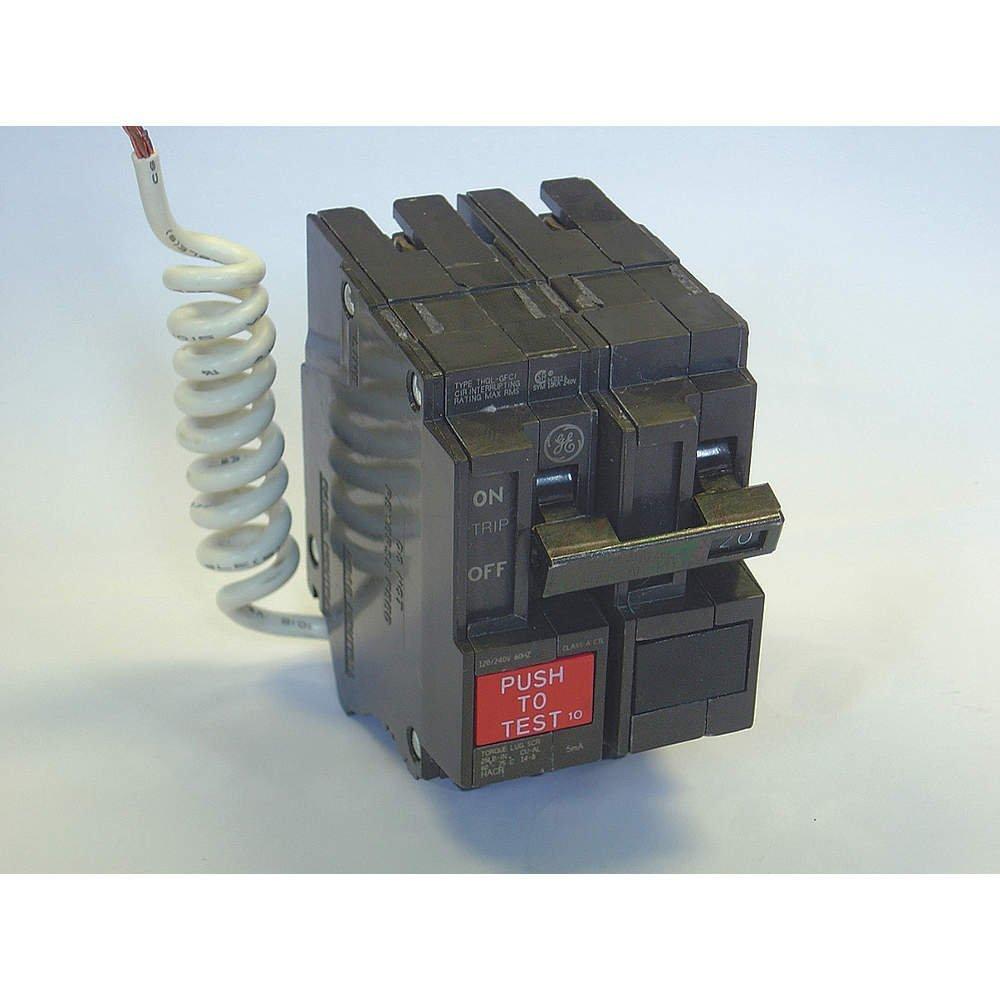 30A GFCI 2Pole Circuit Breaker 10kA THQ