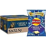 Walkers Crisps, 32.5 g,32件装 100 g, 300 g
