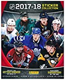 2017/18 Panini NHL Hockey Stickers SPECIAL COLLECTORS PACKAGE with 80 Brand New MINT Stickers & HUGE 72 Page Collectors Album! Plus SPECIAL BONUS of 2005 UD Sidney Crosby ROOKIE Card! Loaded! WOWZZER!